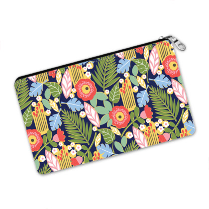 Paradise House Tropical Floral Pencil Case