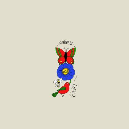 Ladies T Shirt - Sow Harvest Enjoy