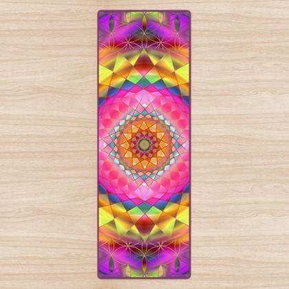 Yoga Mat Purple Pink Mandala