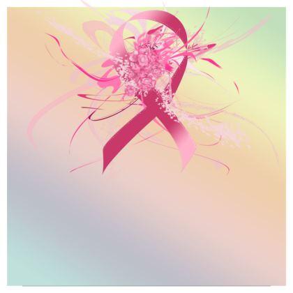 Skater Dress - Skater klänning - Pink flowers ribbon gradient