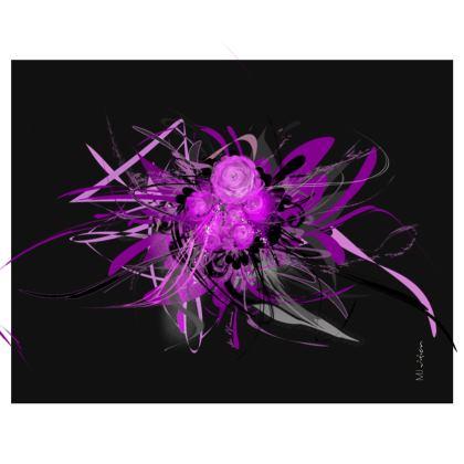 Handbag - Handväska - Lilac black
