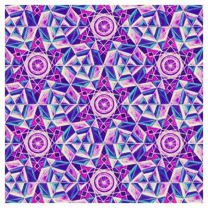 Socks Purple Kaleidoscope