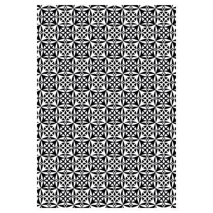 Socks Black White Tile