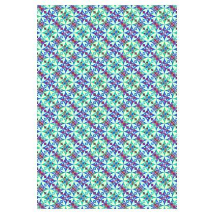 Socks Mosaic Green Pattern