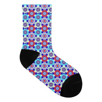 Socks Floral Pattern