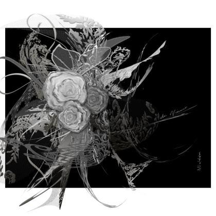 Handbag - Handväska - 50 shades of lace grey black