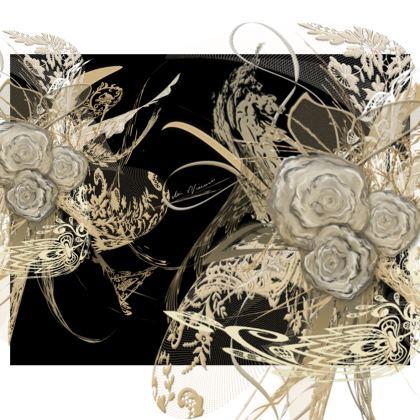 Handbags - Handväska - 50 shades of lace black