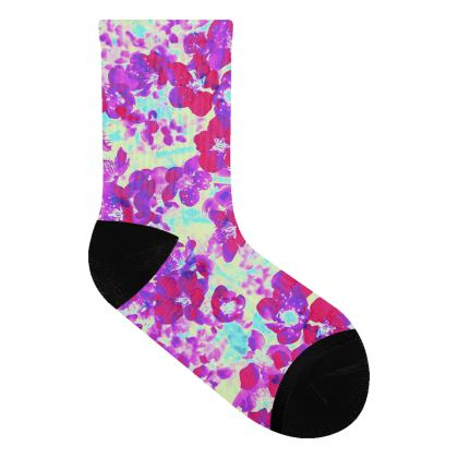 Socks Spring Flowers
