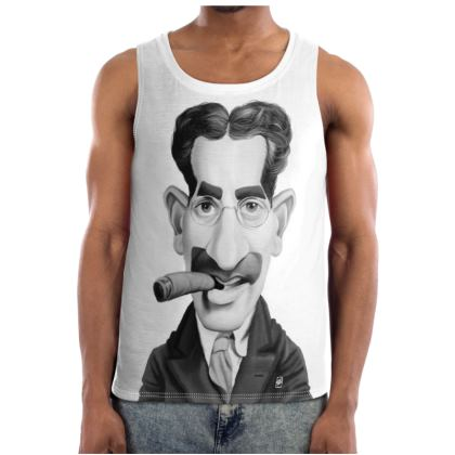 Groucho Marx Celebrity Caricature Cut and Sew Vest