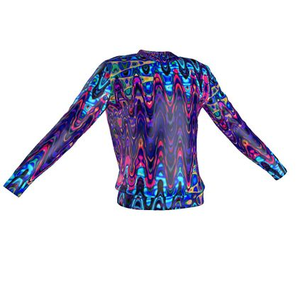 Sweatshirt Purple Splashes