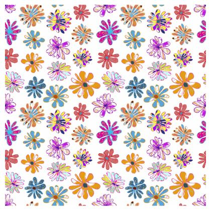 Rainbow Daisies Collection Christmas Stocking