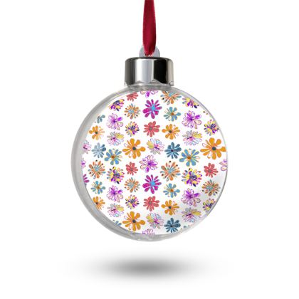 Rainbow Daisies Collection Bauble Sets