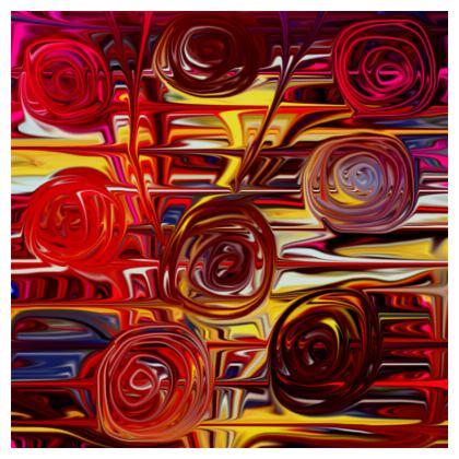 Bone China Baubles Spiral Roses