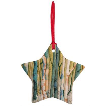 Green Winter Tree Ornament