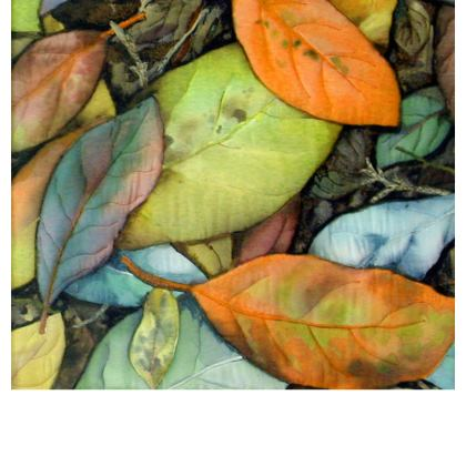 Leaf Print Kika Tote