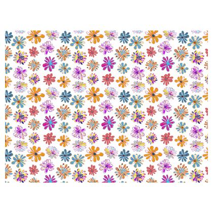 Rainbow Daisies Collection Lunch Bags