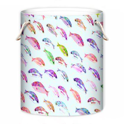 Tropical Fish Collection Laundry Bag