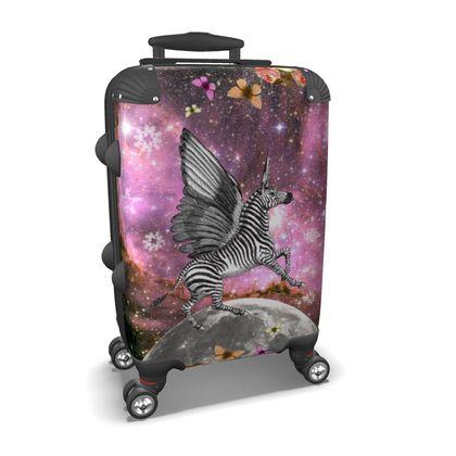 Unicorn (Zebra Pegacorn) Suitcase