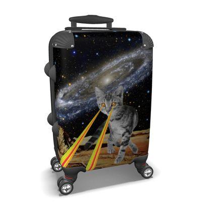 Space Cat Suitcase