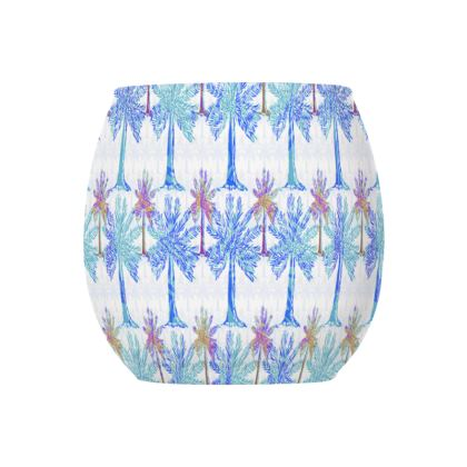 Oasis Collection in blue Glass Tealight Holder