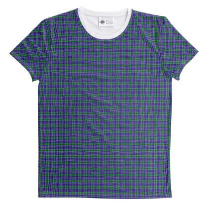 MacDonald Lord of the Isles Hunting Tartan Unisex T-Shirt