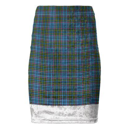 Flora MacDonald Tartan Pencil Skirt