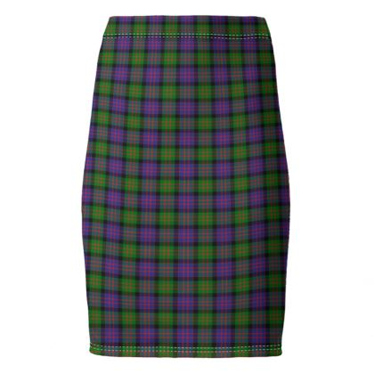 MacDonald Tartan Pencil Skirt