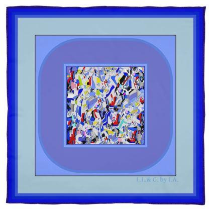 Foulard artistici in seta linea Il mare dentro