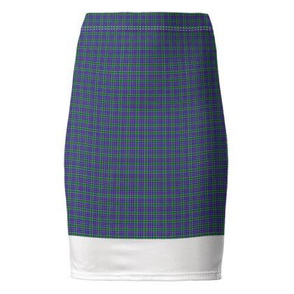 MacDonald Lord of the Isles Hunting Tartan Pencil Skirt