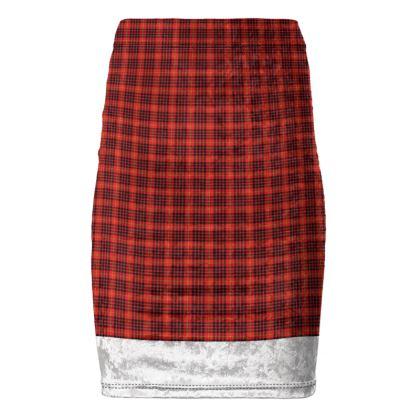 MacDonald of Ardnamurchan Tartan Pencil Skirt