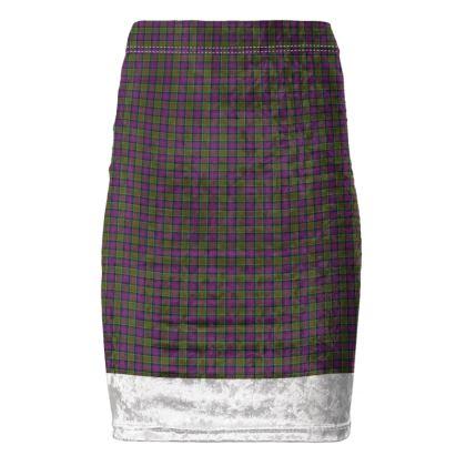 MacDonald of Clanranald Tartan Pencil Skirt