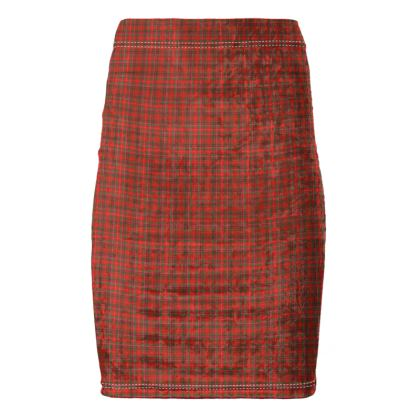 MacDonald of Staffa Pencil Skirt