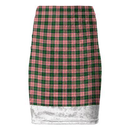 MacDonald of Kingsburgh Tartan Pencil Skirt