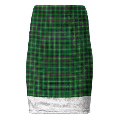 MacDonald Lord of the Isles Tartan Pencil Skirt