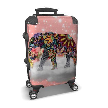 Mandala Elephant Suitcase