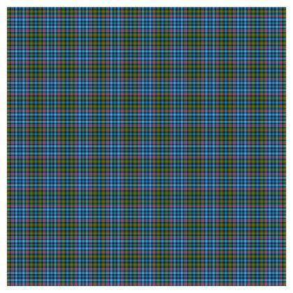 Flora MacDonald Tartan Skater Dress