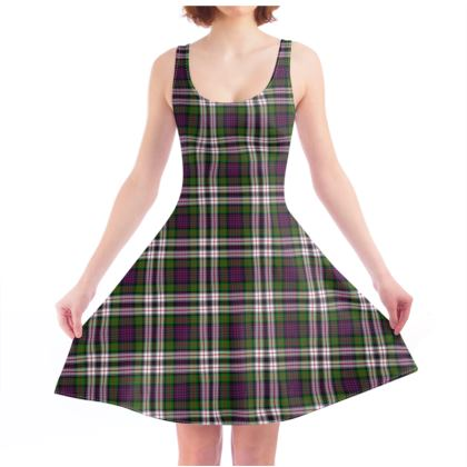MacDonald Dress Tartan Skater Dress
