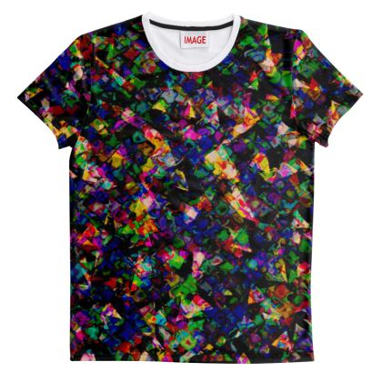 zappwaits - Cut And Sew All Over Print T Shirt