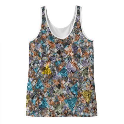 zappwaits - Ladies Vest Top