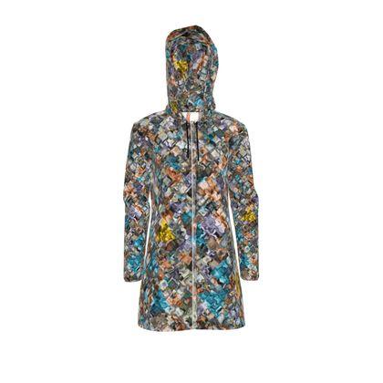 zappwaits - Womens Hooded Rain Mac