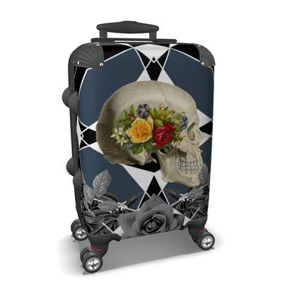 Gothic Skull Suitcase