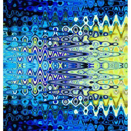 Loafer Espadrilles Blue Splashes