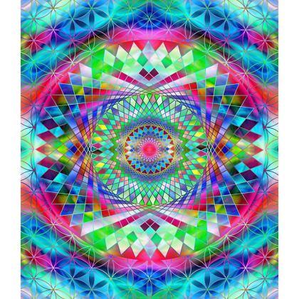 Loafer Espadrilles Vintage Mandala