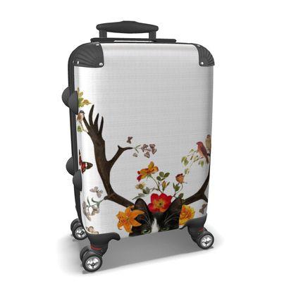 Cat Horns Suitcase