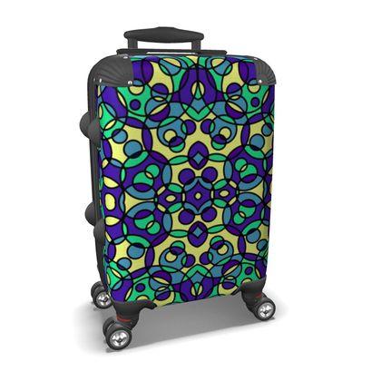 Colorful Kaleidoscope Suitcase