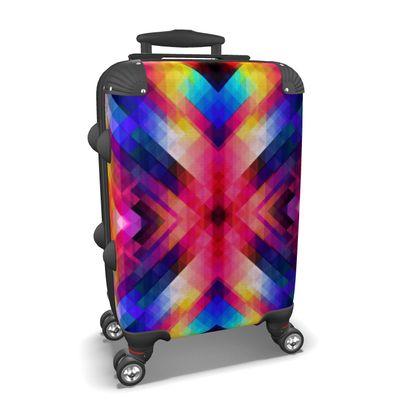 Neon Suitcase