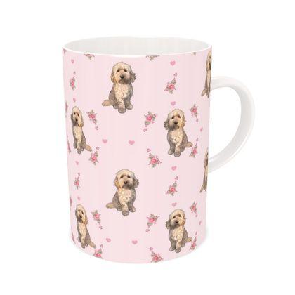 'Rosie' The Cockapoo bone China mug