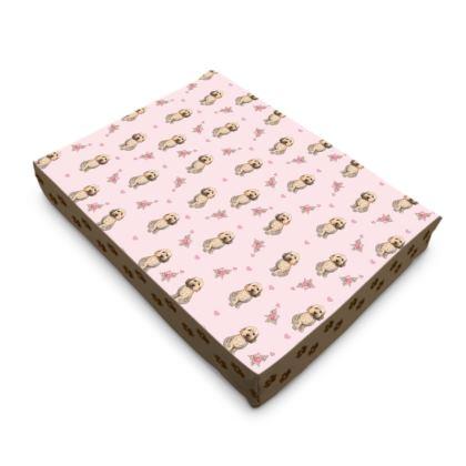 """Rosie The Cockapoo"" pet bed"