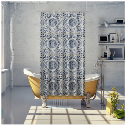 Shower Curtain - Old Tile