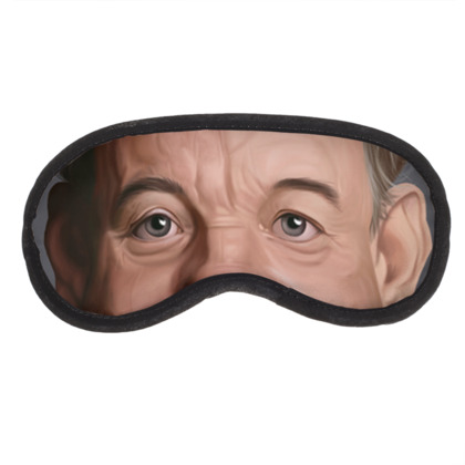 Bill Murray Celebrity Caricature Eye Mask
